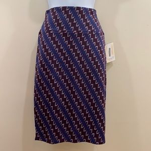 LuLaRoe Cassie Printed Skirt  NEW  Size XS